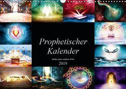 Prophetischer Kalender: Bilder einer anderen Welt (Wandkalender 2019 DIN A3 quer) von Glimm,  Simon
