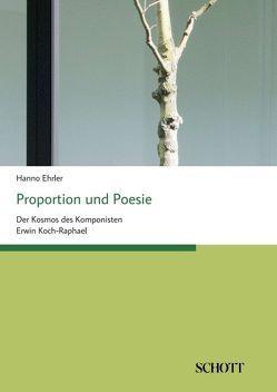 Proportion und Poesie von Ehrler,  Hanno