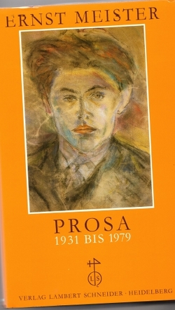 Prosa 1931-1979 von Allemann,  Beda, Lohr-Jasperneite,  Andreas, Meister,  Ernst