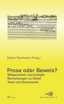 Prosa oder Beweis? von Ramharter,  Esther