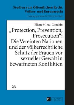 «Protection, Prevention, Prosecution»: von Mirau-Gondoin,  Eliette