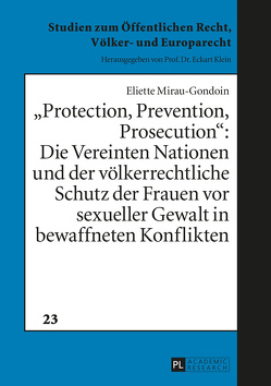 «Protection, Prevention, Prosecution»: von Mirau-Gondoin,  Eliette