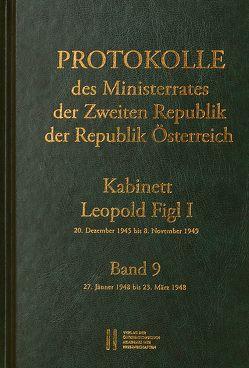 Protokolle des Ministerrates der Zweiten Republik, Kabinett Leopold Figl I von Enderle-Burcel,  Gertrude, Jerabek,  Rudolf, Mueller,  Wolfgang