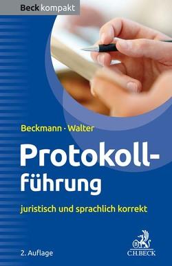 Protokollführung von Beckmann,  Edmund, Walter,  Steffen