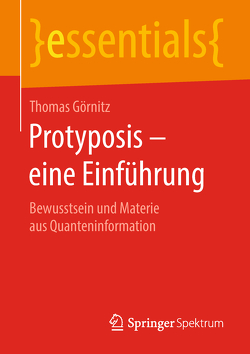 Protyposis – eine Einführung von Goernitz,  Thomas