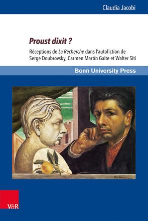 Proust dixit? von Jacobi,  Claudia