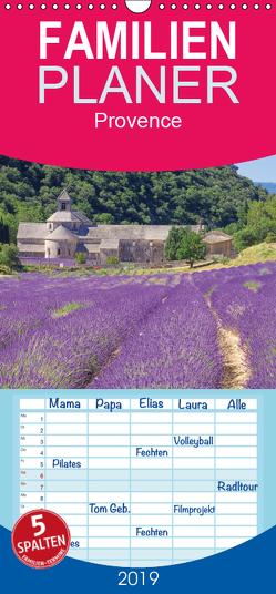 Provence – Familienplaner hoch (Wandkalender 2019 , 21 cm x 45 cm, hoch) von LianeM