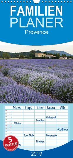 Provence fotografiert von Andreas Riedmiller – Familienplaner hoch (Wandkalender 2019 <strong>21 cm x 45 cm</strong> hoch) von Riedmiller,  Andreas