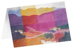 Provence – Kunst-Faltkarten ohne Text (5 Stück) von Felger,  Andreas