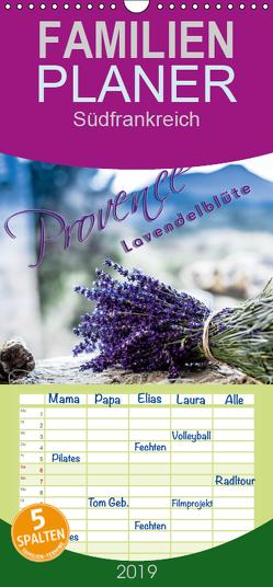 Provence – Lavendelblüte – Familienplaner hoch (Wandkalender 2019 , 21 cm x 45 cm, hoch) von Schöb,  Monika