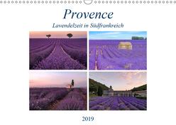 Provence, Lavendelzeit in Südfrankreich (Wandkalender 2019 DIN A3 quer) von Kruse,  Joana