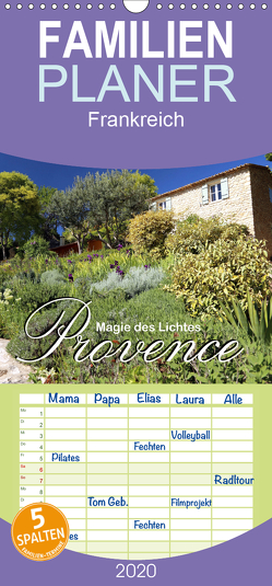 Provence – Magie des Lichtes – Familienplaner hoch (Wandkalender 2020 , 21 cm x 45 cm, hoch) von Stamm,  Dirk