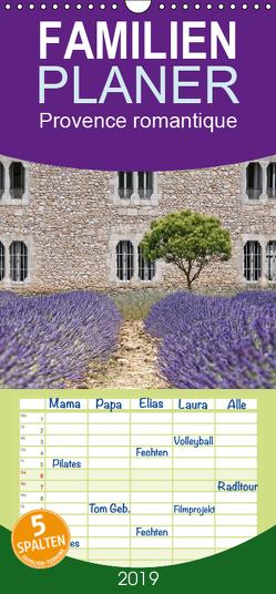 Provence romantique – Familienplaner hoch (Wandkalender 2019 , 21 cm x 45 cm, hoch) von / Joachim G. Pinkawa,  Jo.PinX