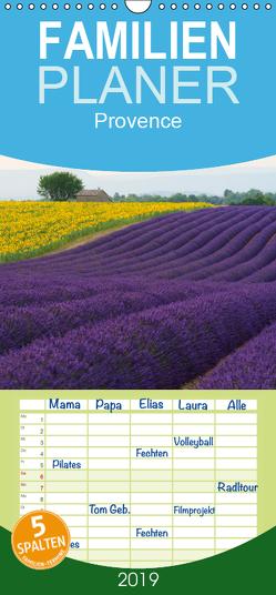 Provence von Christian Heeb – Familienplaner hoch (Wandkalender 2019 , 21 cm x 45 cm, hoch) von Heeb,  Christian