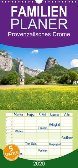 Provenzalisches Drome – Familienplaner hoch (Wandkalender 2020 , 21 cm x 45 cm, hoch) von Voigt,  Tanja