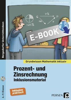 Prozent- und Zinsrechnung – Inklusionsmaterial von Bettner,  M., Henning,  C., Spellner,  C.