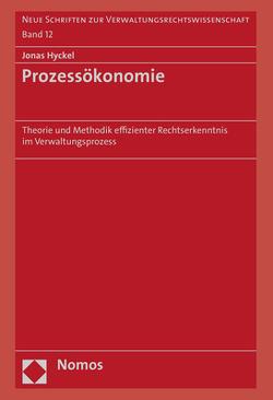 Prozessökonomie von Hyckel,  Jonas