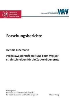 Prozesswasseraufbereitung beim Wasserstrahlschneiden für die Zuckerrübenernte von Jünemann,  Dennis