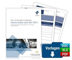 Prüf- und Dokumentationsmappe: Interne Audits nach ISO 19011