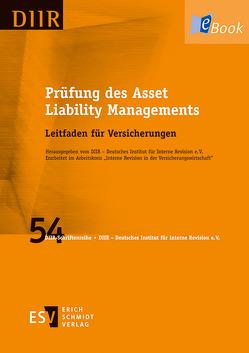 Prüfung des Asset Liability Managements von DIIR - Deutsches Institut für Interne Revision e. V.