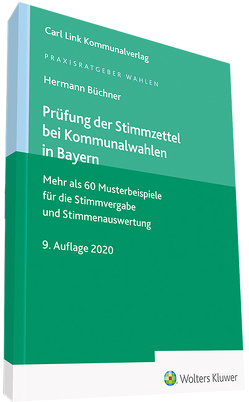 Prüfung Stimmzettel BY von Büchner,  Hermann
