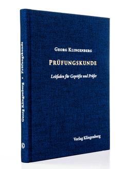 Prüfungskunde von Klingenberg,  Georg