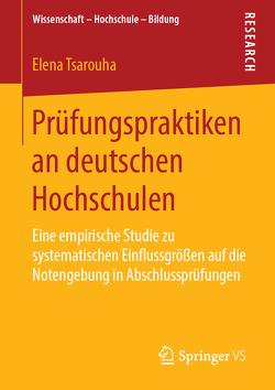 Prüfungspraktiken an deutschen Hochschulen von Tsarouha,  Elena
