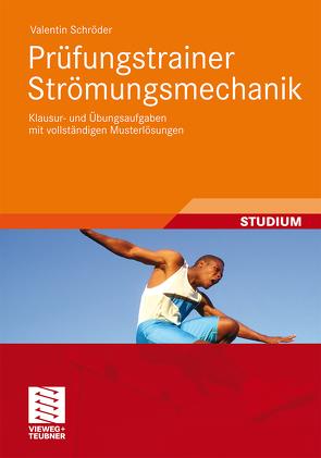 Prüfungstrainer Strömungsmechanik von Schröder,  Valentin