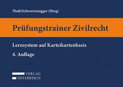 Prüfungstrainer Zivilrecht von Schwarzenegger,  Peter, Thoß,  Axel