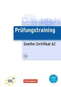 Prüfungstraining DaF / A2 – Goethe-Zertifikat A2 von Maenner,  Dieter