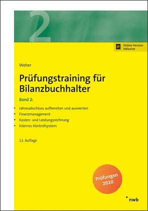 Prüfungstraining für Bilanzbuchhalter, Band 2 von Weber,  Martin