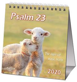 Psalm 23 Kleinkalender 2019 von Fatzer,  Kurt