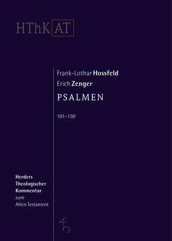 Psalmen 101-150 von Hossfeld,  Frank-Lothar, Zenger,  Erich