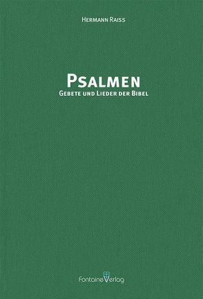 Psalmen von Raiß,  Hermann