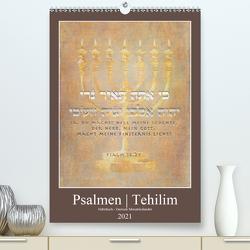 Psalmen Tehilim Hebräisch – Deutsch (Premium, hochwertiger DIN A2 Wandkalender 2021, Kunstdruck in Hochglanz) von Switzerland. Marena Camadini,  Kavodedition