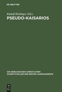 Pseudo-Kaisarios von Riedinger,  Rudolf