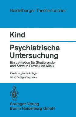 Psychiatrische Untersuchung von Kind,  H.