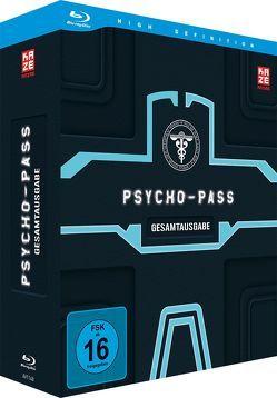 Psycho Pass – 1. Staffel – Gesamtausgabe – Blu-ray Box (4 Blu-rays) von Urobuchi,  Naoyoshi Shiotani,  Gen