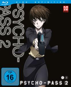 Psycho Pass – 2. Staffel – Box 1 (Blu-ray) von Suzuki,  Kiyotaka