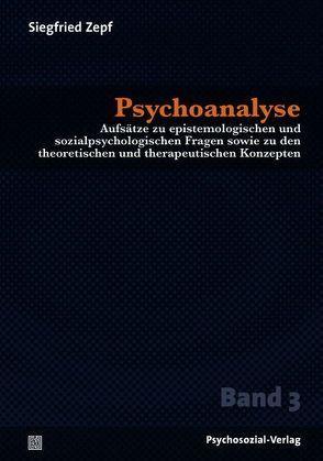 Psychoanalyse von Zepf,  Siegfried