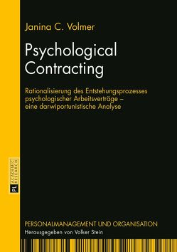 Psychological Contracting von Volmer,  Janina