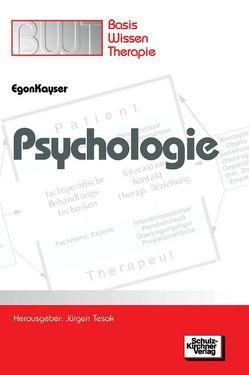 Psychologie von Kayser,  Egon, Tesak,  Jürgen