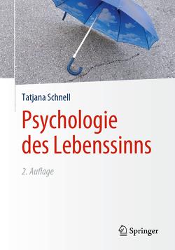 Psychologie des Lebenssinns von Schnell,  Tatjana