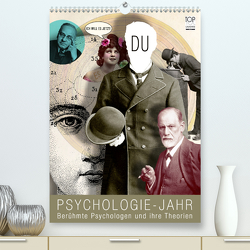 Psychologie-Jahr (Premium, hochwertiger DIN A2 Wandkalender 2021, Kunstdruck in Hochglanz) von bilwissedition.com Layout: Babette Reek,  Bilder: