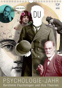 Psychologie-Jahr (Wandkalender 2019 DIN A4 hoch) von bilwissedition.com Layout: Babette Reek,  Bilder: