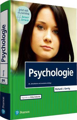 "Psychologie mit E-Learning ""MyLab   Psychologie"" von Gerrig,  Richard J., Zimbardo,  Philip G."