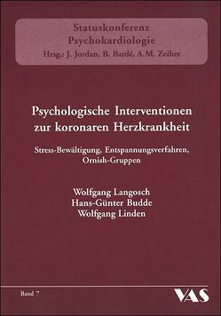 Psychologische Intervention zur koronaren Herzkrankheit von Budde,  Hans-Günter, Langosch,  Wolfgang, Linden,  Wolfgang