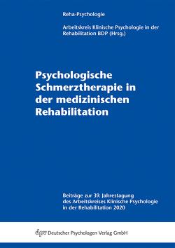Psychologische Schmerztherapie in der medizinischen Rehabilitation