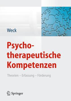 Psychotherapeutische Kompetenzen von Weck,  Florian
