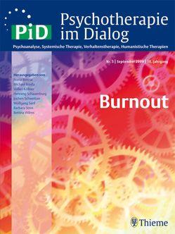 Psychotherapie im Dialog – Burnout von Wilms,  Bettina